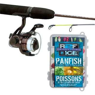 Ready 2 Fish Ice Panfish Spinning Combo, Medium Fishing & Marine