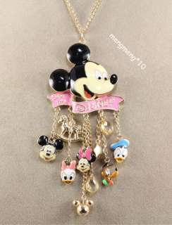 New Disney Mickey mouse Donald duck Necklace