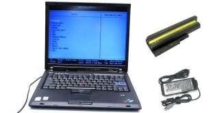 Thinkpad T60 Laptop Core Duo 1.8 Ghz 1GB 60GB DVD CDRW No OS