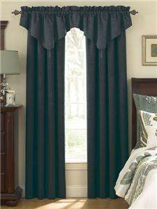 CHENILLE THERMABACK 42x63 Panel Black color Blackout Curtain.I am