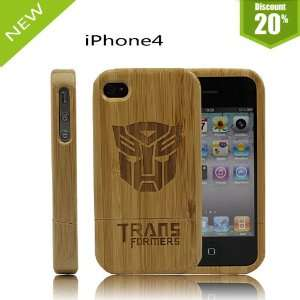 Bamboo Qualitive Cellphone Protection Cover Iphone 4 4s