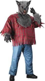 lobo de talla plus ofrece una camisa de tela escocesa roja y negro con