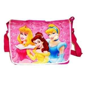 Princess Cinderella, Belle, Sleeping Beauty Large Messenger Bag