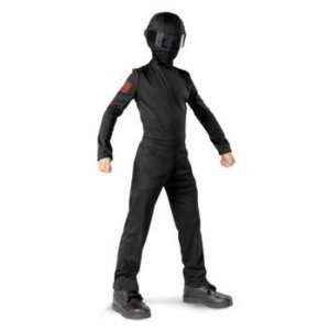Boys GI Joe Snake Eyes Costume & Mask M (7 8): Toys