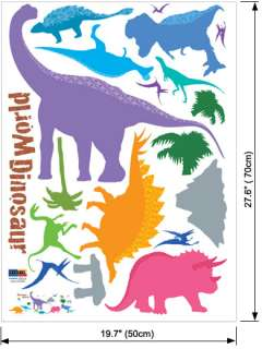 Dinosaur Kids Room Wall Stickers Vinyl Decals Mural