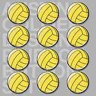 12 water polo pinback buttons pins h2o polo waterpolo returns